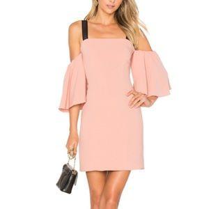 NWT $640 CINQ A SEPT Monroe Cold Shoulder Dress 4